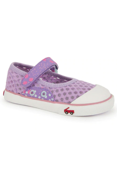 See Kai Run Saylor Mary Jane Purple - Alternate List Image