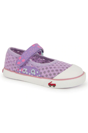 See Kai Run Saylor Mary Jane Purple - Front cropped