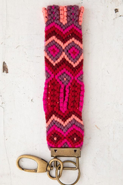 Natural Life Sayulita Key Fobs - Front full body