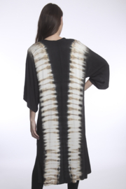 RIVER AND SKY Sayulita Tie Dye Panel Duster - Back cropped