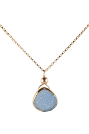 Sayulita Sol Jewelry Blue Druzy Pendant - Product Mini Image