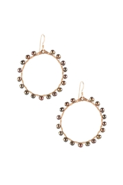 Sayulita Sol Jewelry Ola Black-Pearl Earrings - Product Mini Image