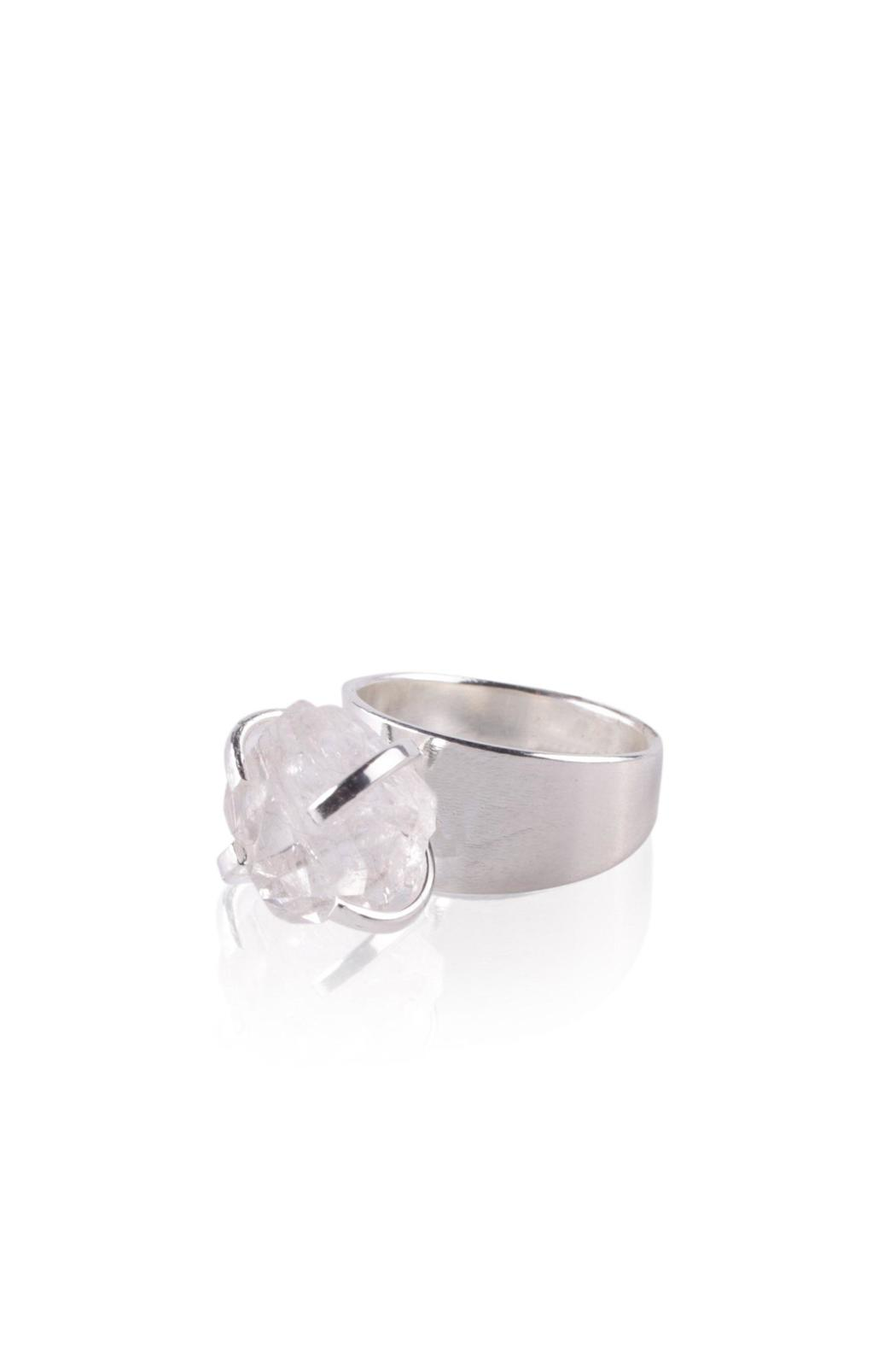 Sayulita Sol Jewelry Rock Crystal Ring - Main Image