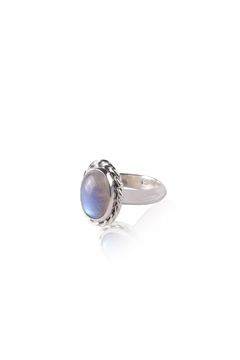 Sayulita Sol Jewelry Silver Moonstone Ring - Product List Image