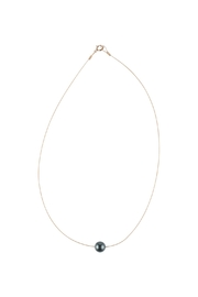 Sayulita Sol Jewelry Swarovski Black Pearl Necklace - Product Mini Image