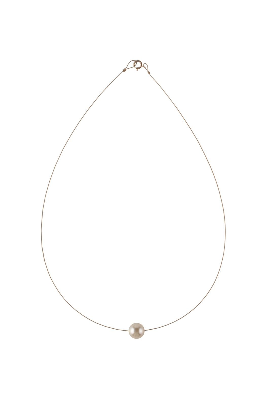 Sayulita Sol Jewelry Swarovski Cream Pearl Necklace - Main Image