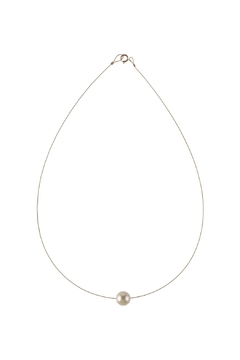 Sayulita Sol Jewelry Swarovski Cream Pearl Necklace - Alternate List Image