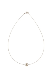 Sayulita Sol Jewelry Swarovski Cream Pearl Necklace - Front cropped