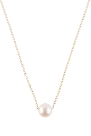 Sayulita Sol Jewelry White-Pearl Gold Necklace - Product Mini Image