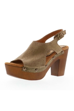 Shoptiques Product: Brown Gold Sandal