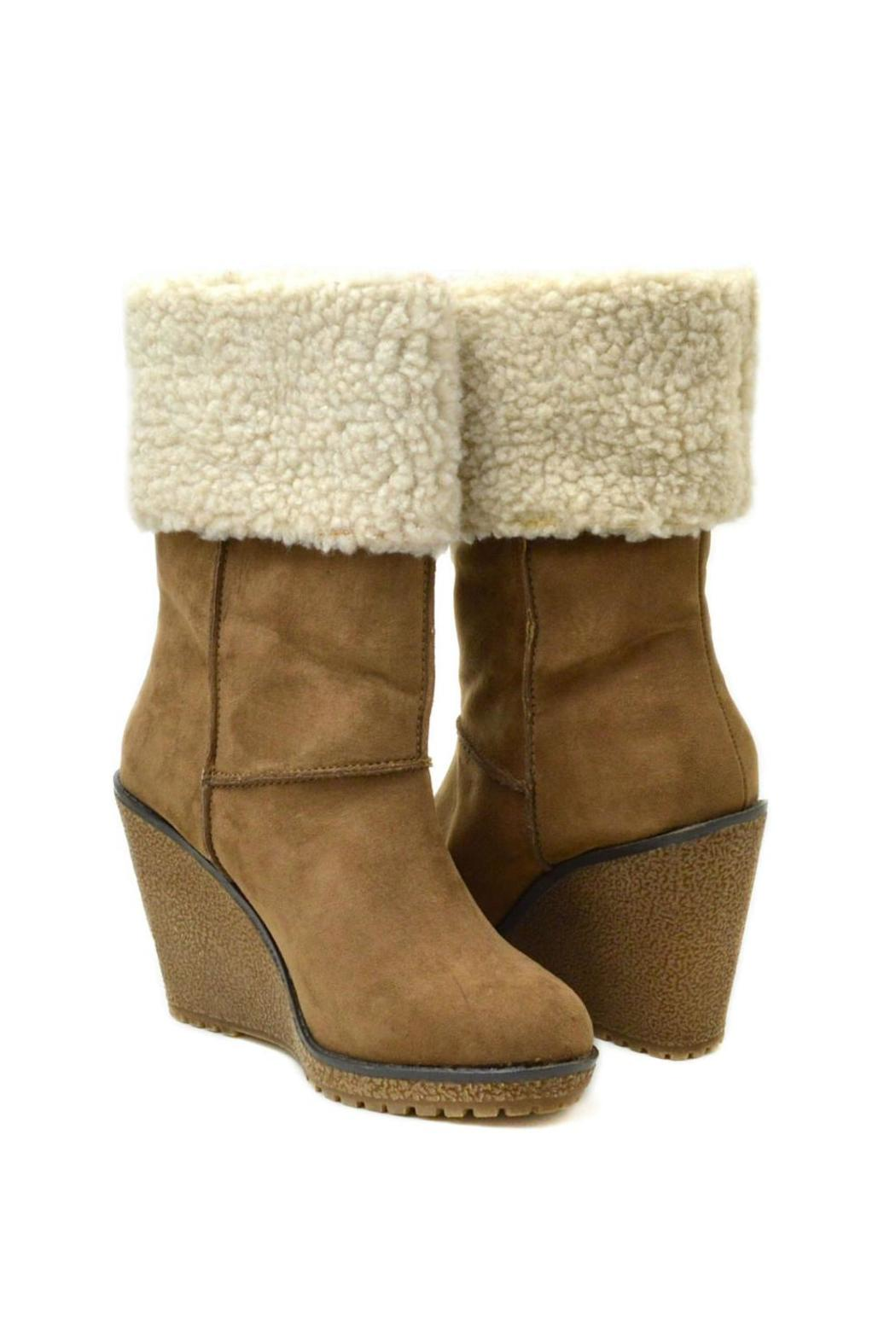Sbicca Coolidge Wedge Boot - Side Cropped Image
