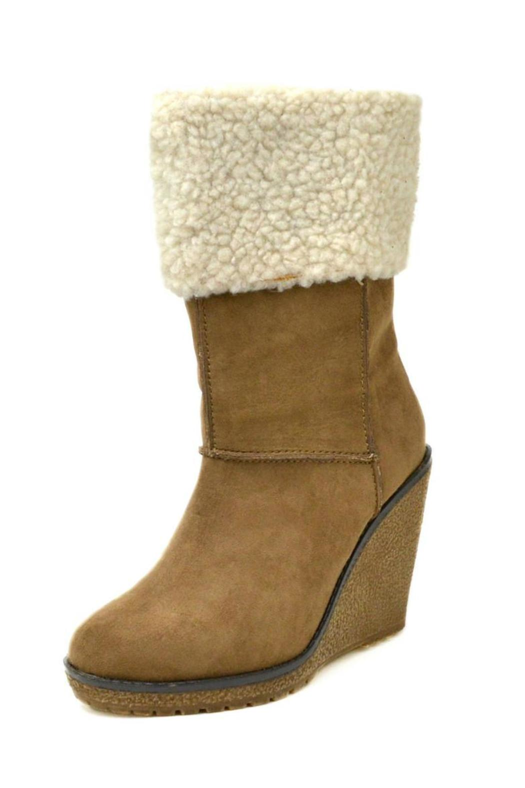 Sbicca Coolidge Wedge Boot - Front Full Image