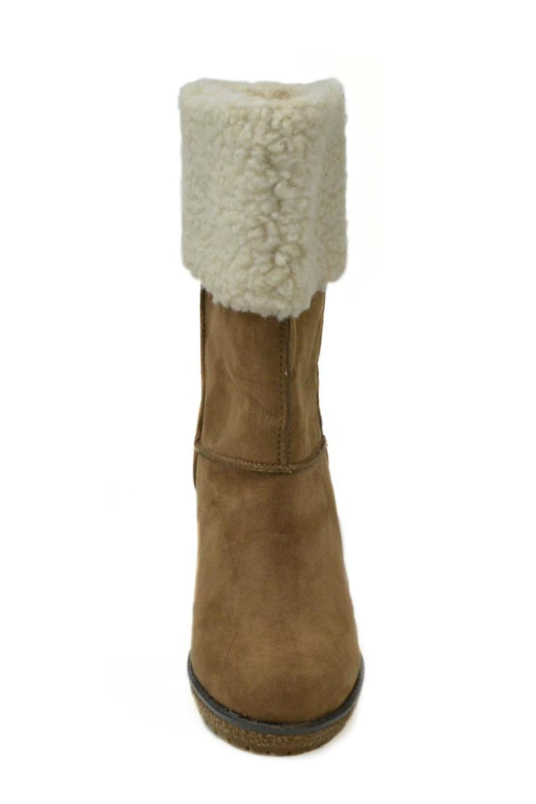 Sbicca Coolidge Wedge Boot - Back Cropped Image