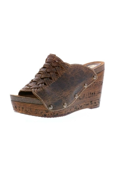 Shoptiques Product: Genesis Brown Wedge