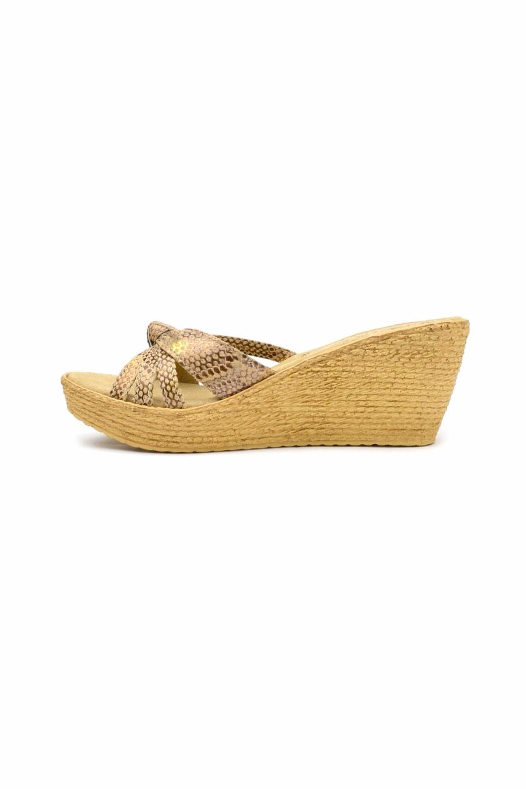 Sbicca Reptile-Embossed Wedge - Main Image