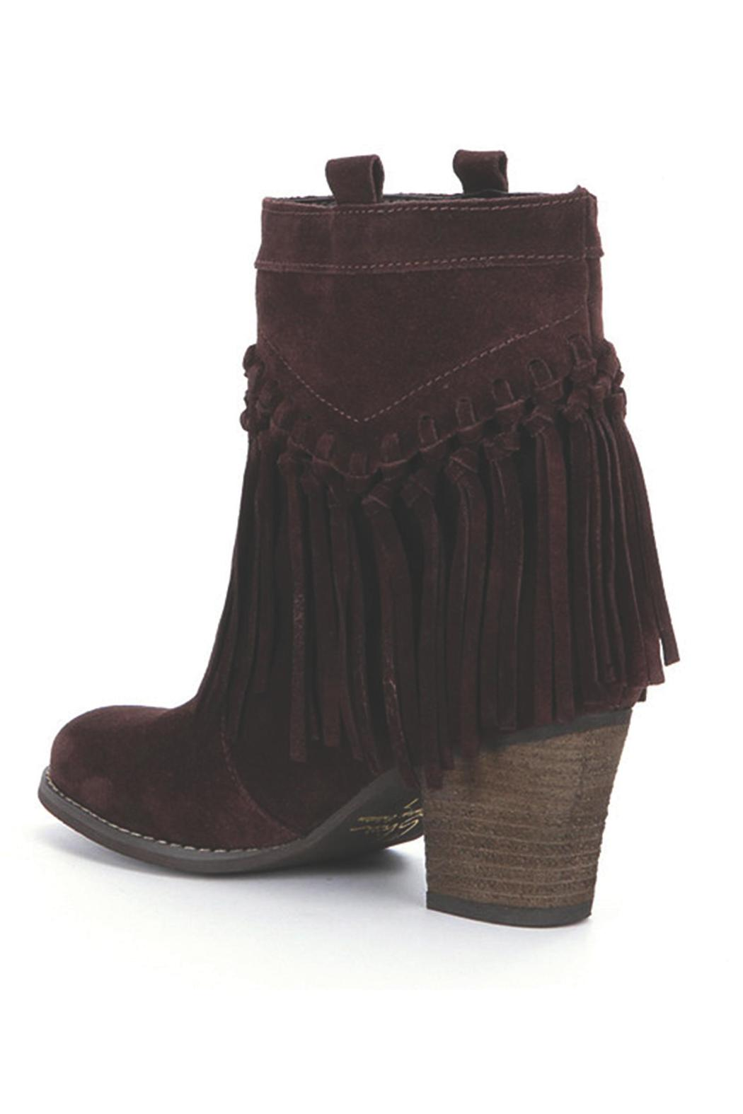 Sbicca Sound Suede Booties - Front Full Image