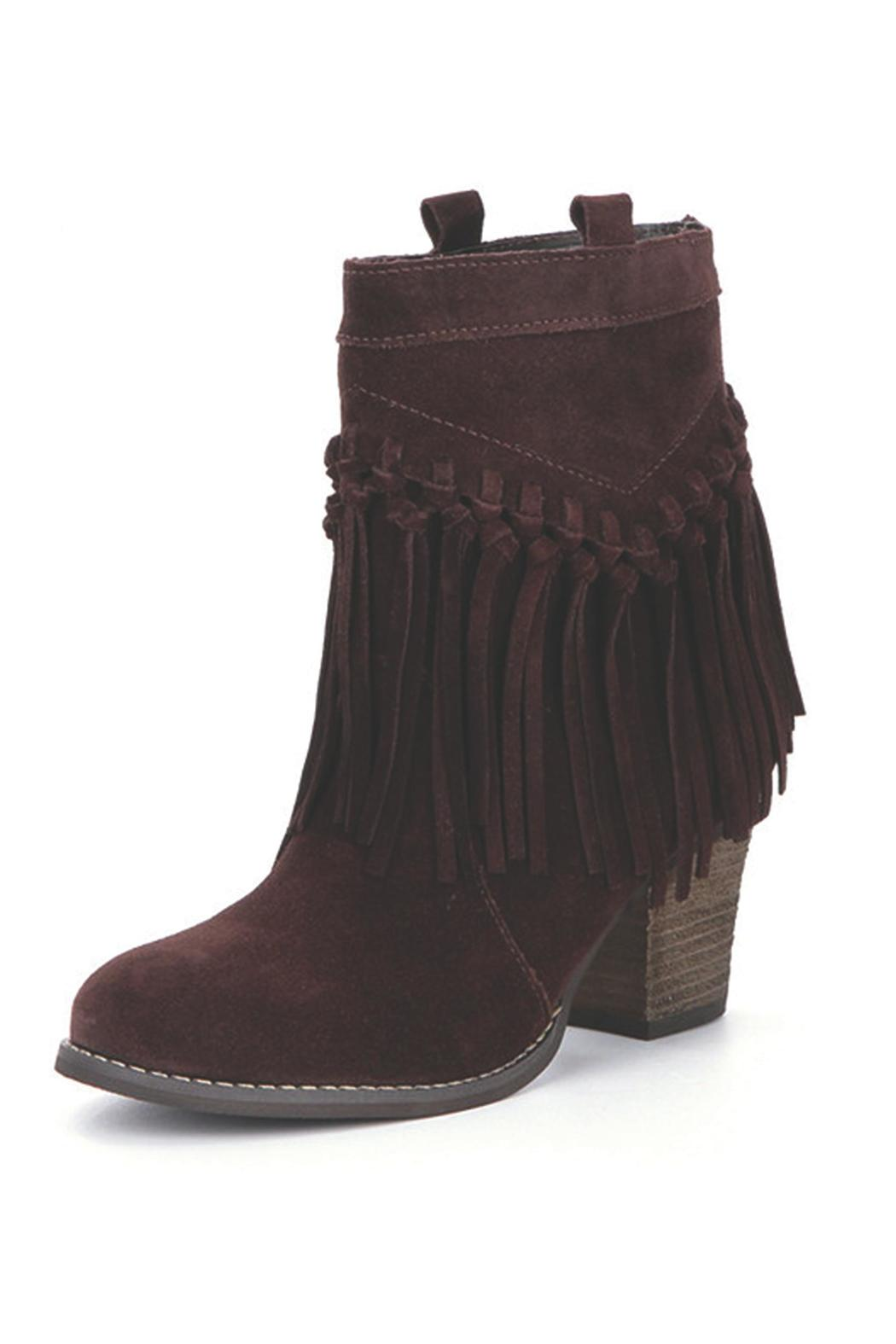 Sbicca Sound Suede Booties - Main Image
