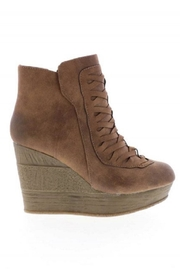 Sbicca Tan Wedge Bootie - Product Mini Image