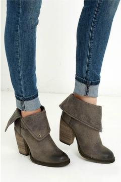 Sbicca Taupe Fold-Over Bootie - Alternate List Image