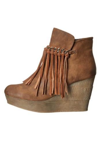 9bf7111a83a Sbicca Zepp Fringe Booties from New Orleans by Nola shoes   accessories —  Shoptiques