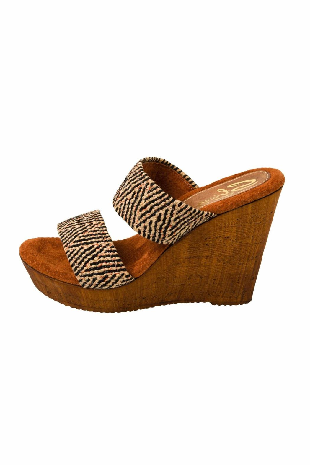Sbicca vintage collection Double Strap Wedge - Main Image