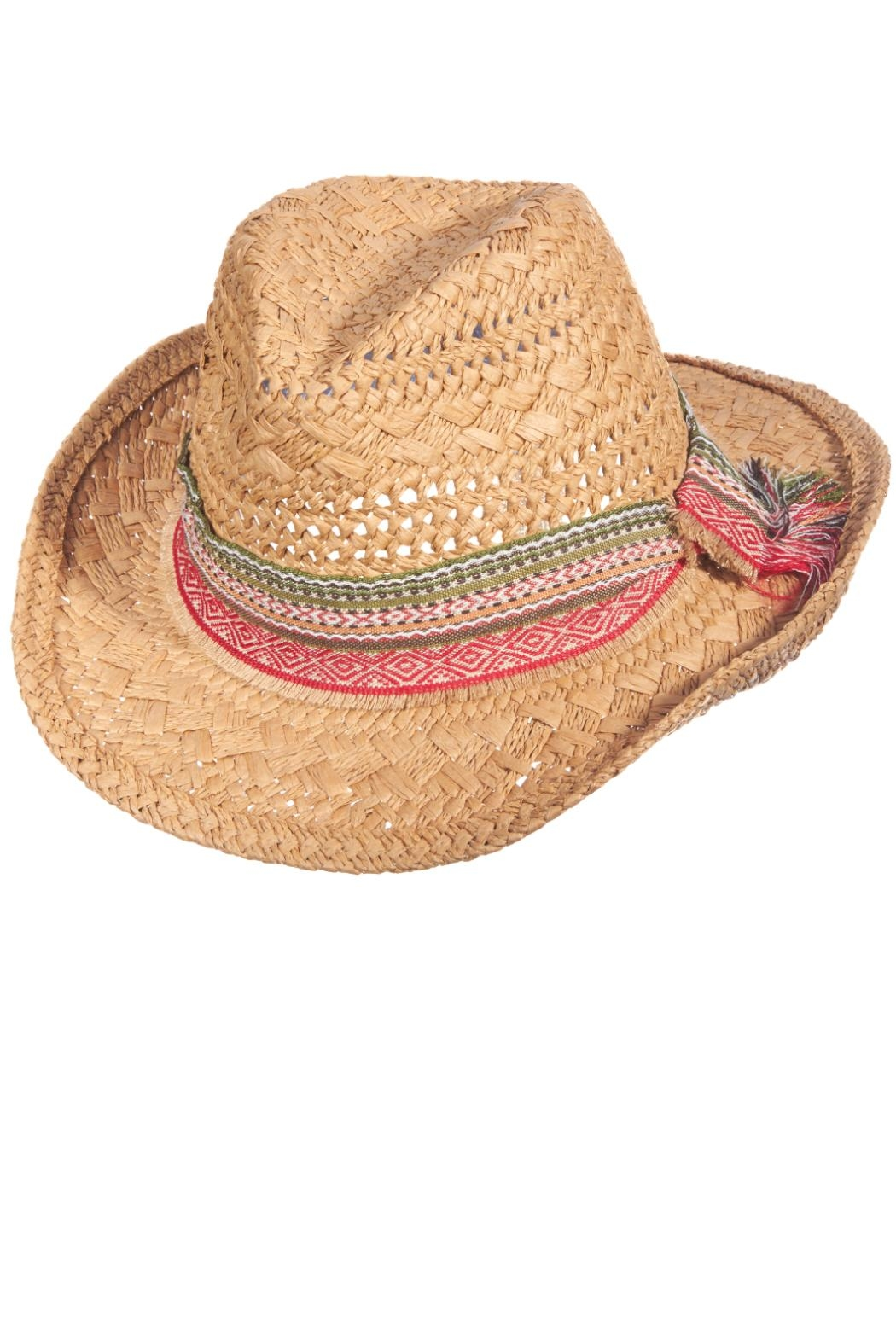 Scala Summer Western Hat - Front Cropped Image