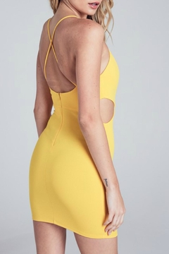 ALB Anchorage Scallop Bodycon Dress - Alternate List Image