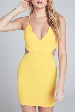 ALB Anchorage Scallop Bodycon Dress - Product List Image
