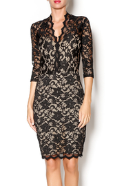 Karen Kane Scallop Border Lace Dress - Product Mini Image