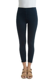 Lyssé Scallop Edge Denim Legging - Product Mini Image
