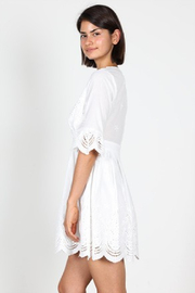 essue Scallop Embroidery Dress - Side cropped
