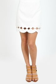 Very J Scallop Hem Skirt - Product Mini Image
