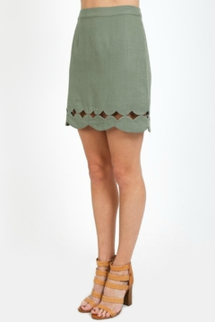 Shoptiques Product: Scallop Hem Skirt