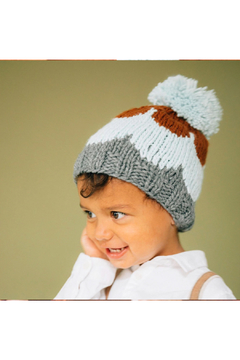 The Blueberry Hill Scallop Knit Hat - Alternate List Image