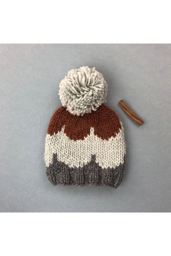 The Blueberry Hill Scallop Knit Hat - Product List Image