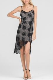Lush Scallop Lace Dress - Product Mini Image