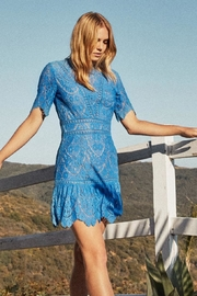 Saylor Scallop Lace Dress - Product Mini Image