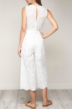 Pretty Little Things Scallop Lace Jumpsuit - Alternate List Image