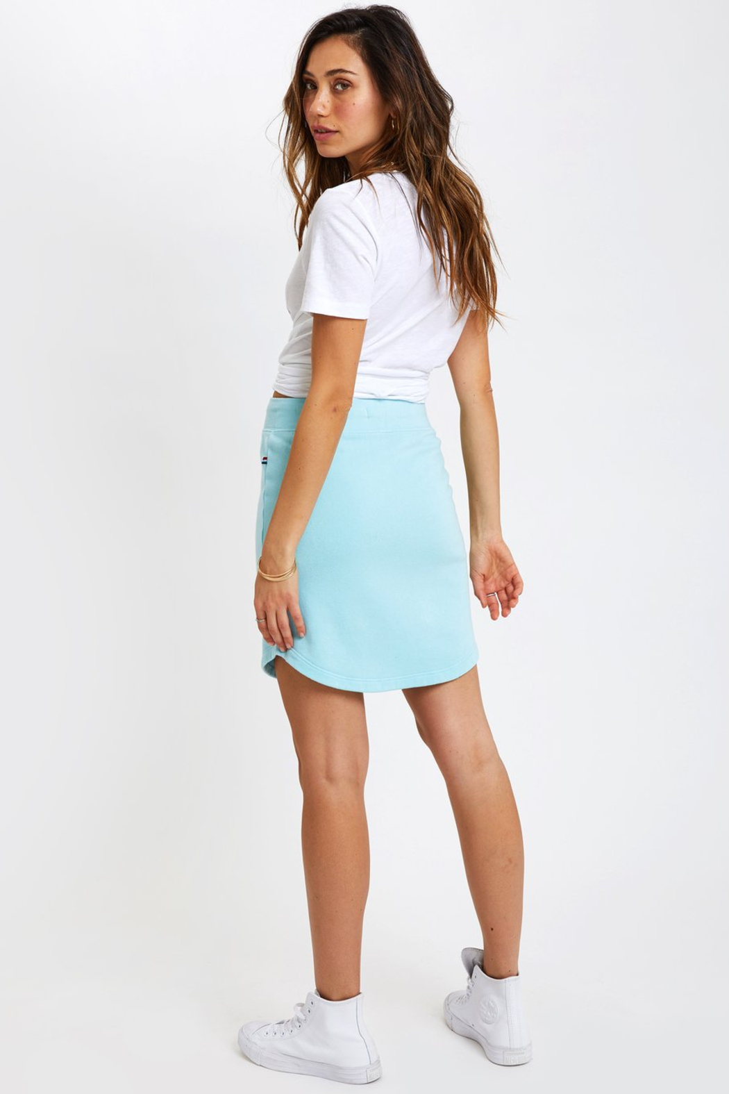 Sol Angeles Scallop Skirt - Front Full Image