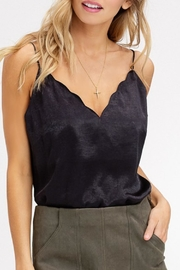 Listicle Scallop V-Neck Camisole - Product Mini Image