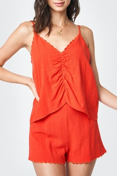 Sugar Lips Scalloped Cami Top - Product List Image