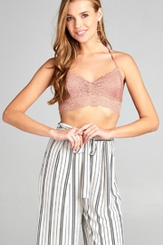 2NE1 Apparel Scalloped Edge Lace-Bralette - Product Mini Image