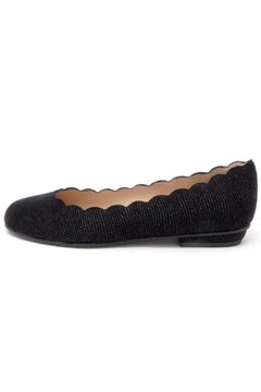 Brenda Zaro Scalloped Goose-Bump Flat - Product List Image