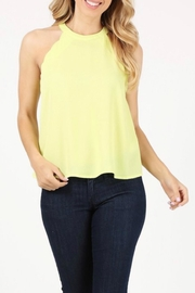 Milk & Honey Scalloped Halter Top - Product Mini Image