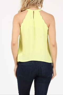 Milk & Honey Scalloped Halter Top - Alternate List Image
