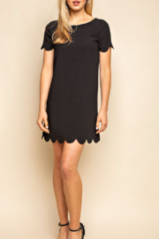 Mittoshop Scalloped Hem Dress - Product Mini Image