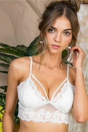 Main Strip Scalloped Lace Bralette - Product Mini Image