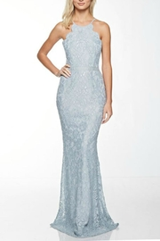 Pretty Little Things Scalloped Lace Gown - Product Mini Image