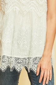 Entro Scalloped Lace Top - Other