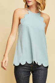 Pretty Little Things Scalloped Tank Top - Product Mini Image